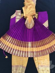 "Golden Mustard with purple costume available sizes are pant ht 32"" to 40"" Totally 13 costumes are available"