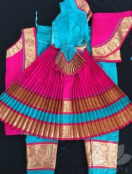 "Blue with pink costume available sizes are pant ht 34"" to 40"" Totally 10 costumes are available"