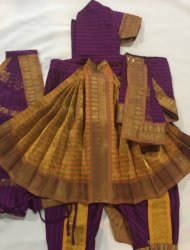 "Purple costume available sizes are pant ht 24""- 2 costumes and 26""- 2 costumes. g3"