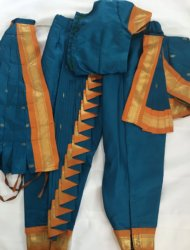 "Available sizes are pant ht 34""- two costumes, one is cross fan and one traditional pattern. g12"