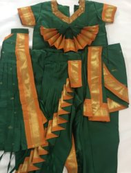 "Available sizes are pant ht 28""- one cross fan costume and 28""- traditonal costume. g9"