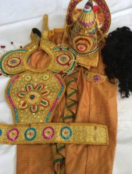King Mahabali Dance Costumes